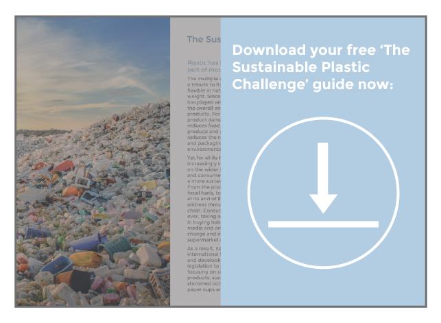 Sustainable Plastics guide button